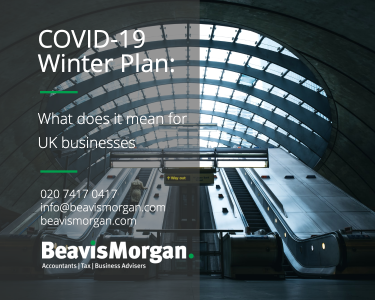 Government's Winter Plan – Supporting businesses & minimising economic impact