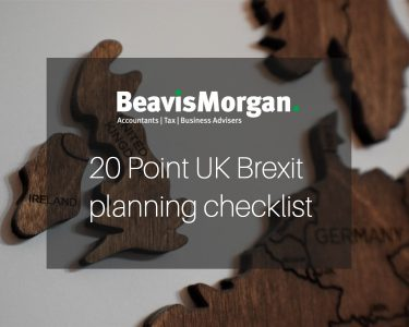 20 Point UK Brexit planning checklist