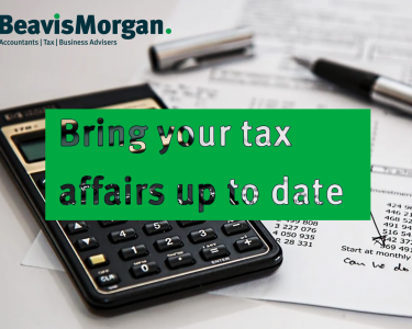 Bring your tax affairs up to date
