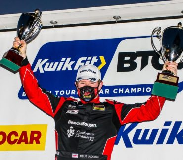 Motorbase on the top step again at Snetterton