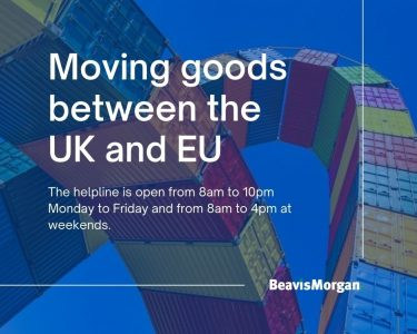 Moving goods between the UK and EU