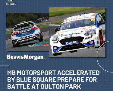 MB Motorsport accelerated by Blue Square prepare for battle at Oulton Park