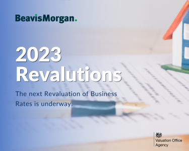 Providing information for business rates revaluation 2023